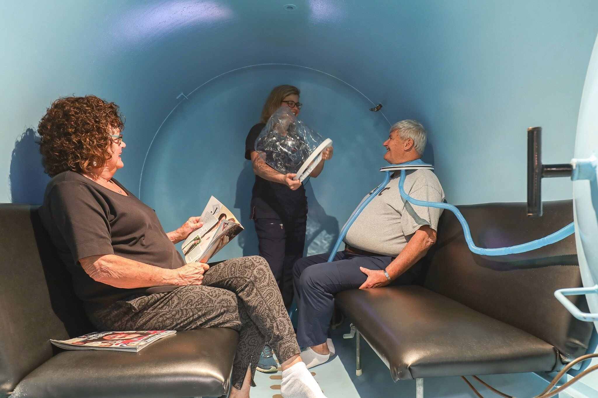 Hyperbaric Recompression Chamber