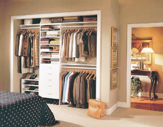 closet design in bedroom in Suwanee GA