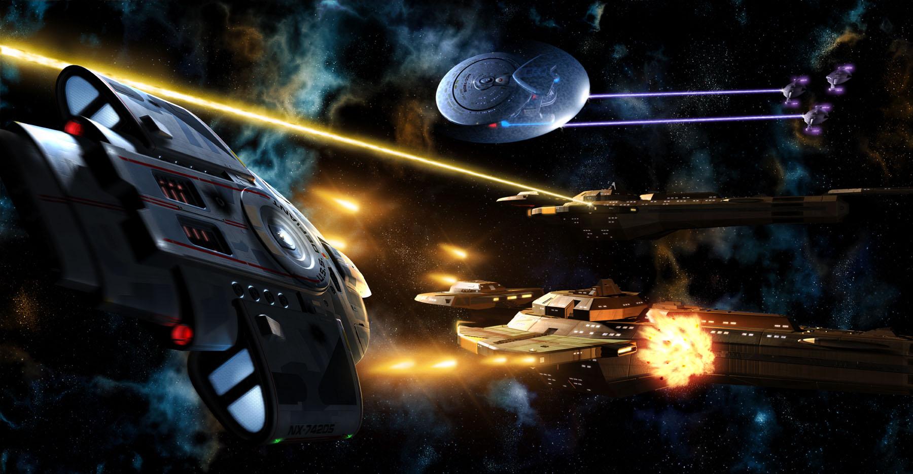 Star Trek Calendar Art