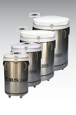 Liquid Nitrogen Storage Freezer