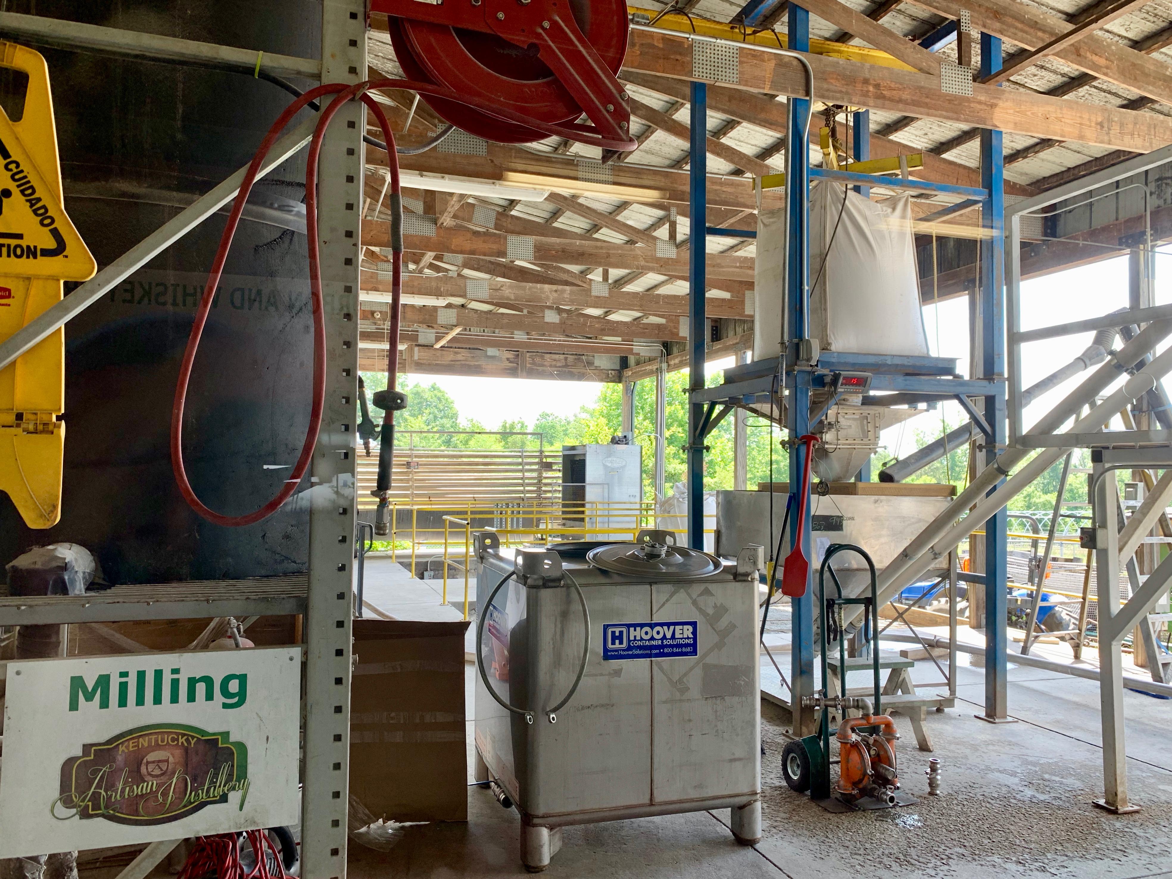 Milling Area - Kentucky Artisan Distillery