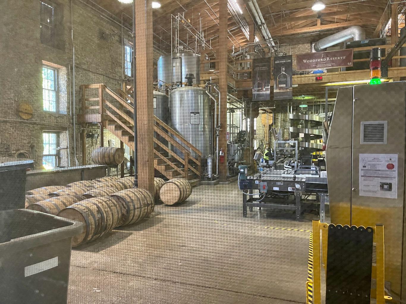 Barrel Dumping - Woodford Reserve Distillery