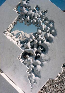 Iceberg- (Detail), Carrara white marble, Livorno, Italy - Deta