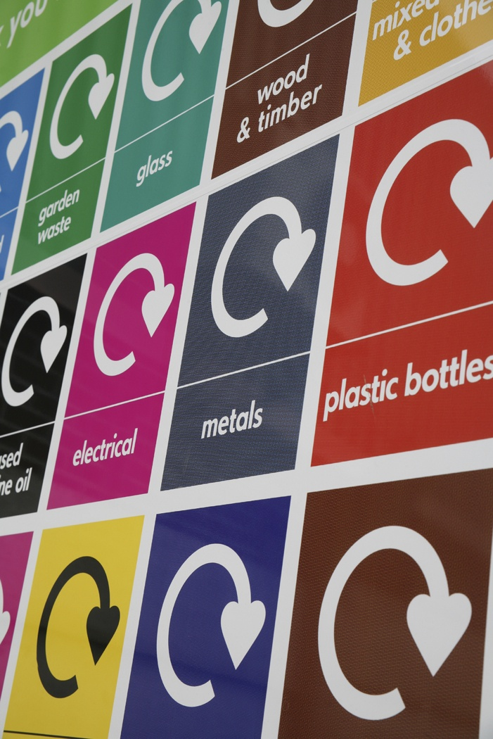 Recycle, reuse, reducing waste to landfill, sustainable, keeping it local