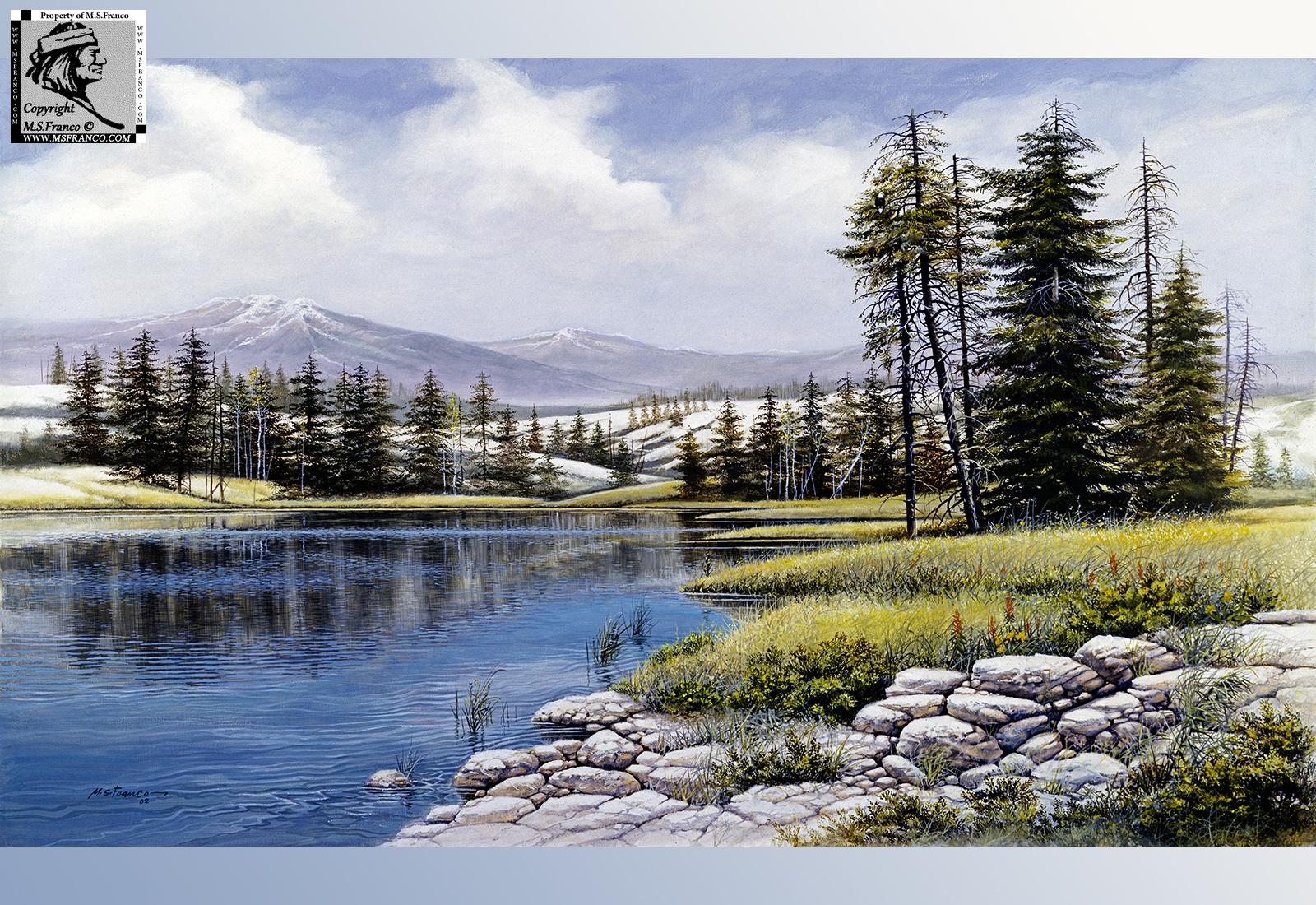 """""""  Lewis Lake """""""