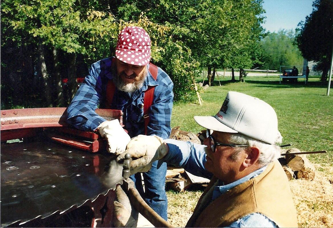 replacing saw tooth 1991 Hillman Centennial