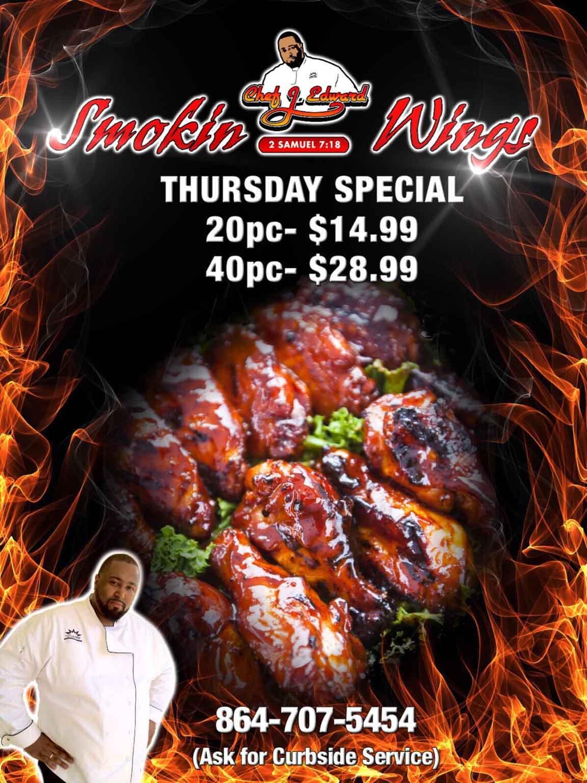 Restaurant Thursday Night Special