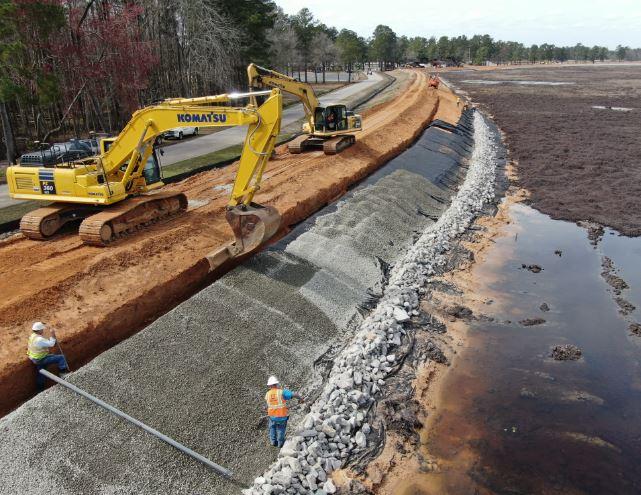 Anson - Airports, Dams and Landfills