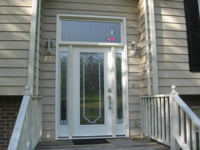 Beautiful Sidelights And Transom