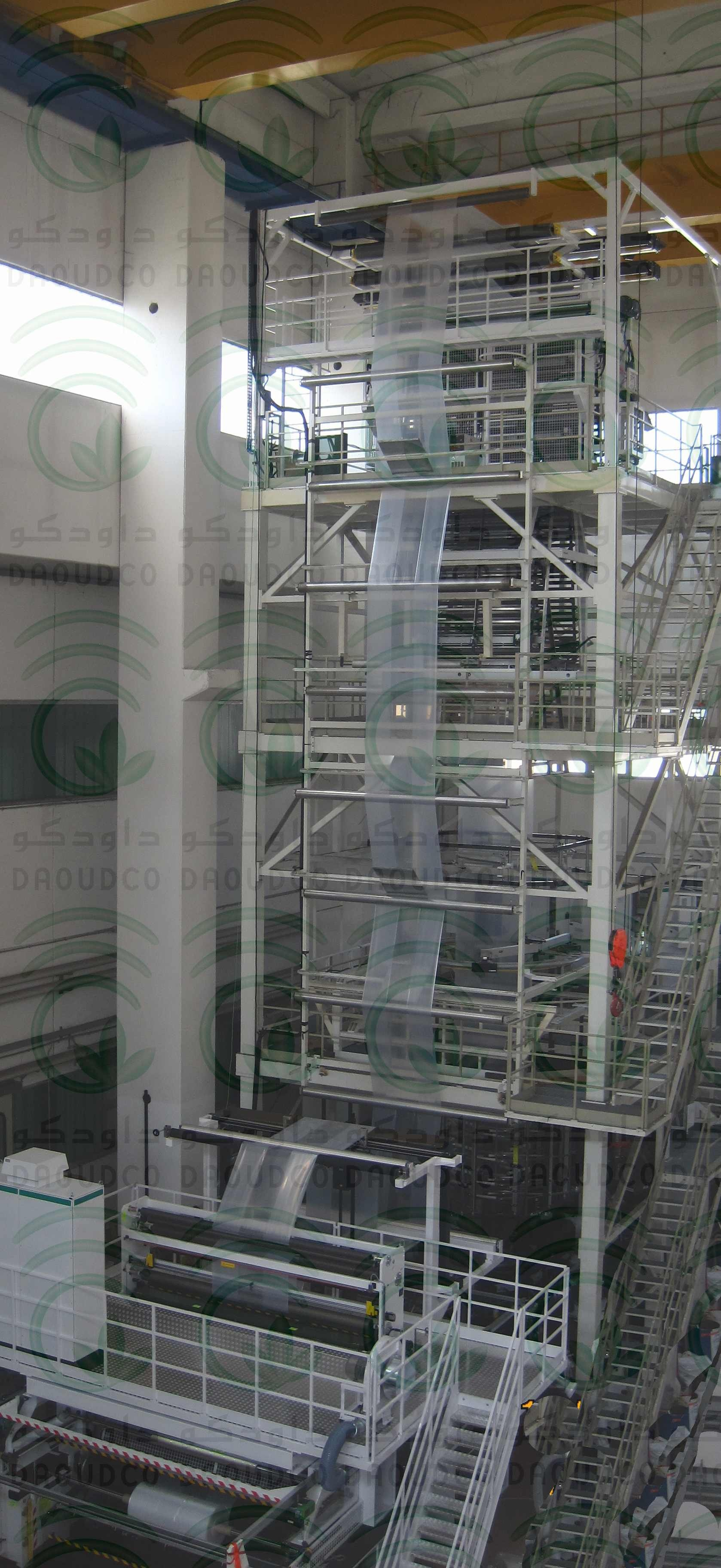 Production of Pallet Shrink Film