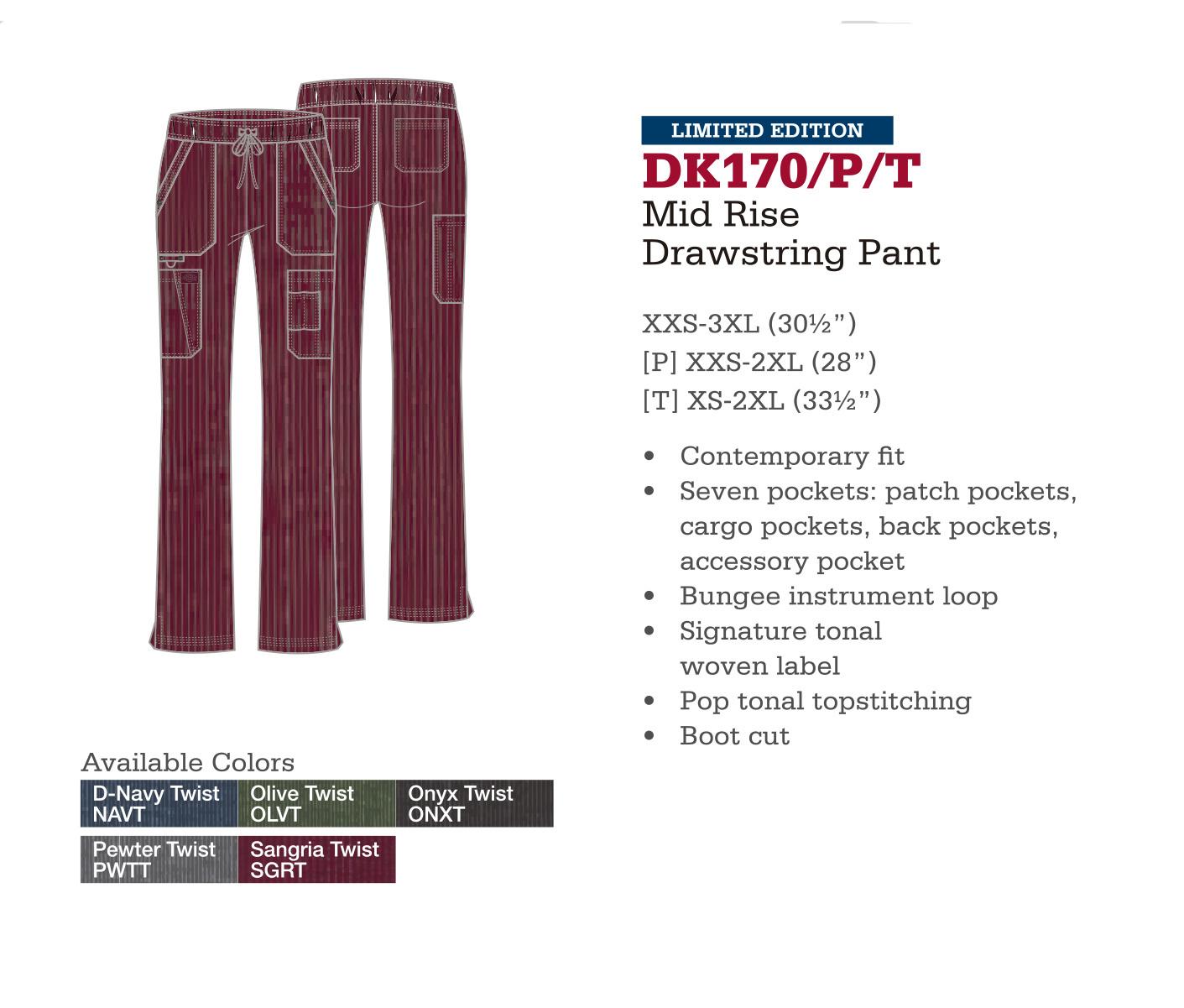 Pantalón con Cordones a Medio Levantar. DK170/P/T.