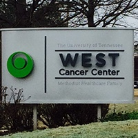 West Cancer Center Signage