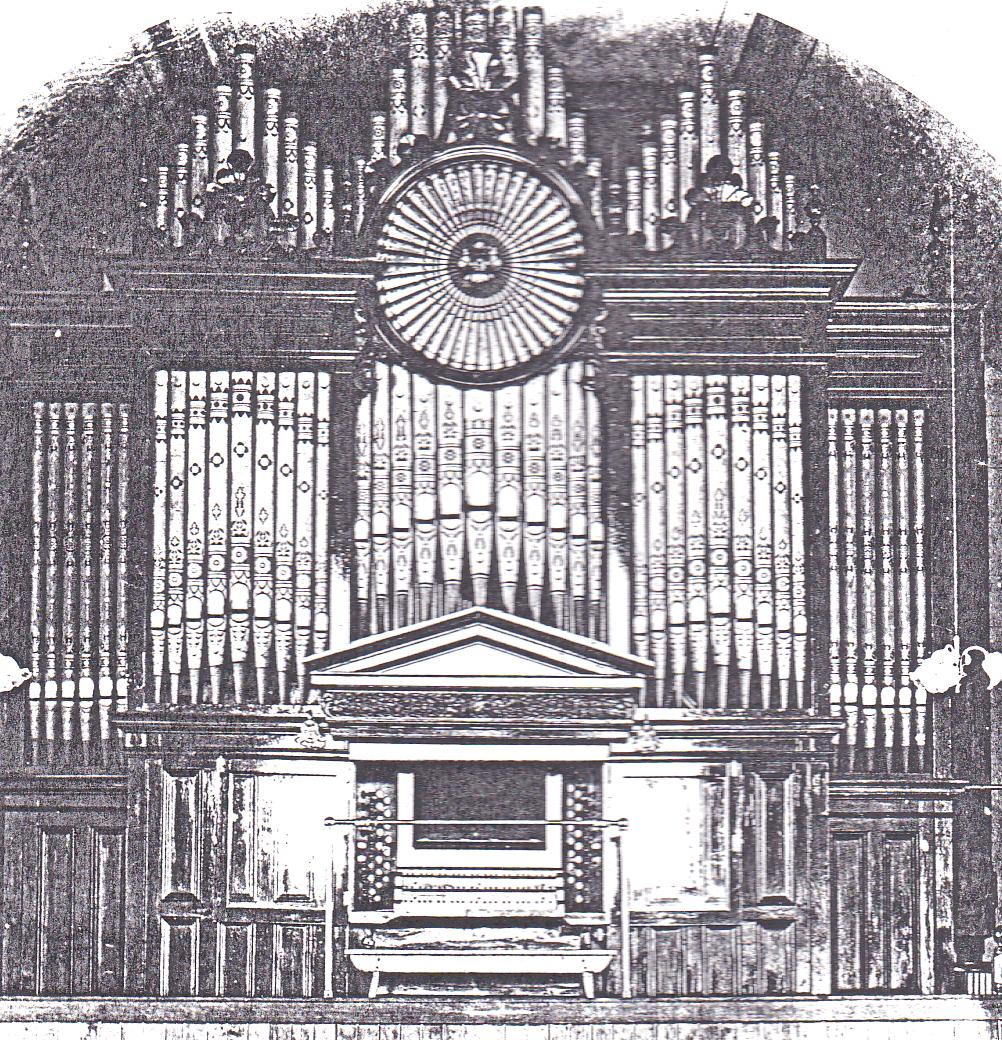 The Original Organ from Southport Baptist Church
