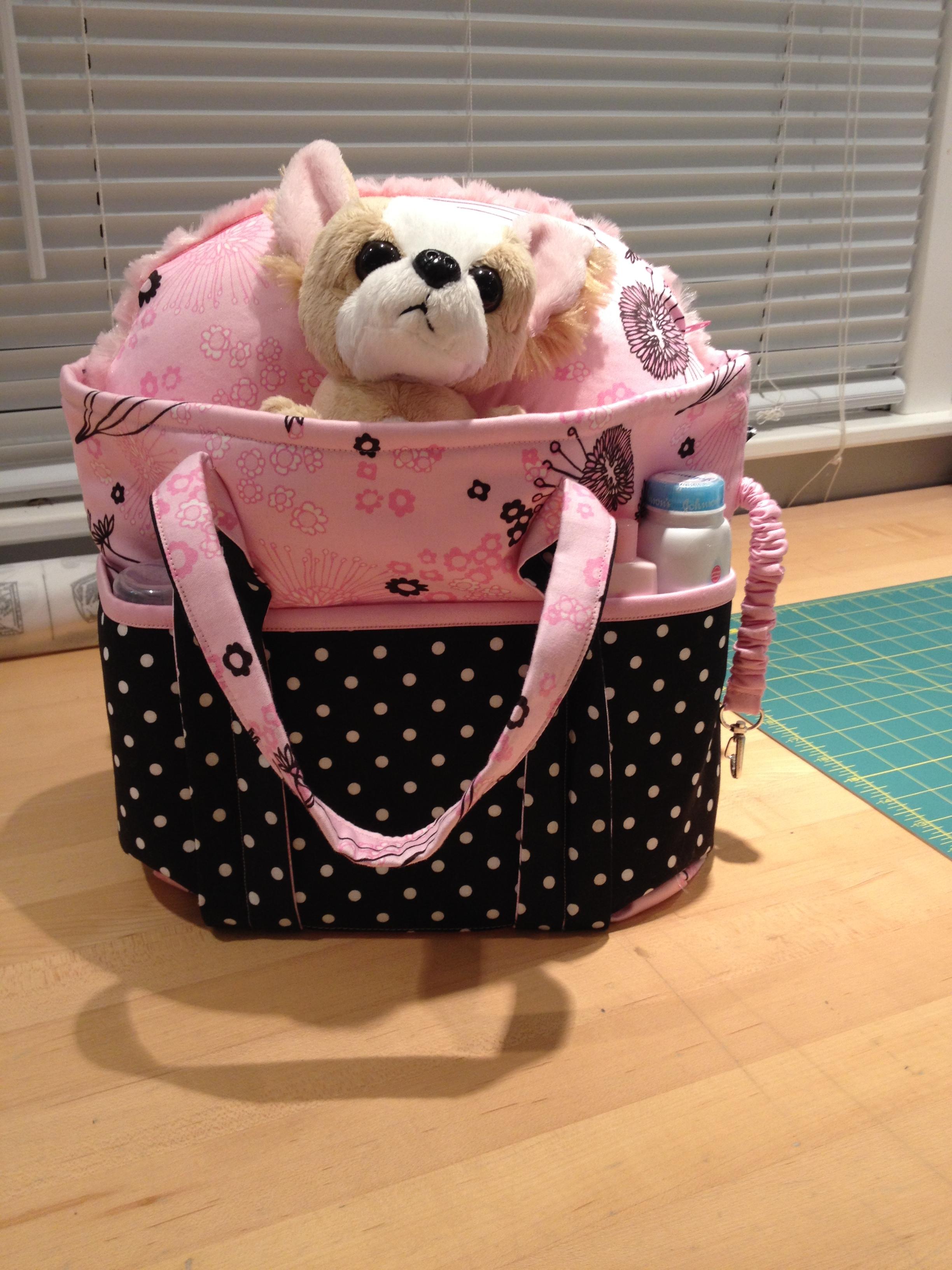 Child's doll diaper bag