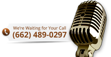 We're Waiting for Your Call (662) 489-0297