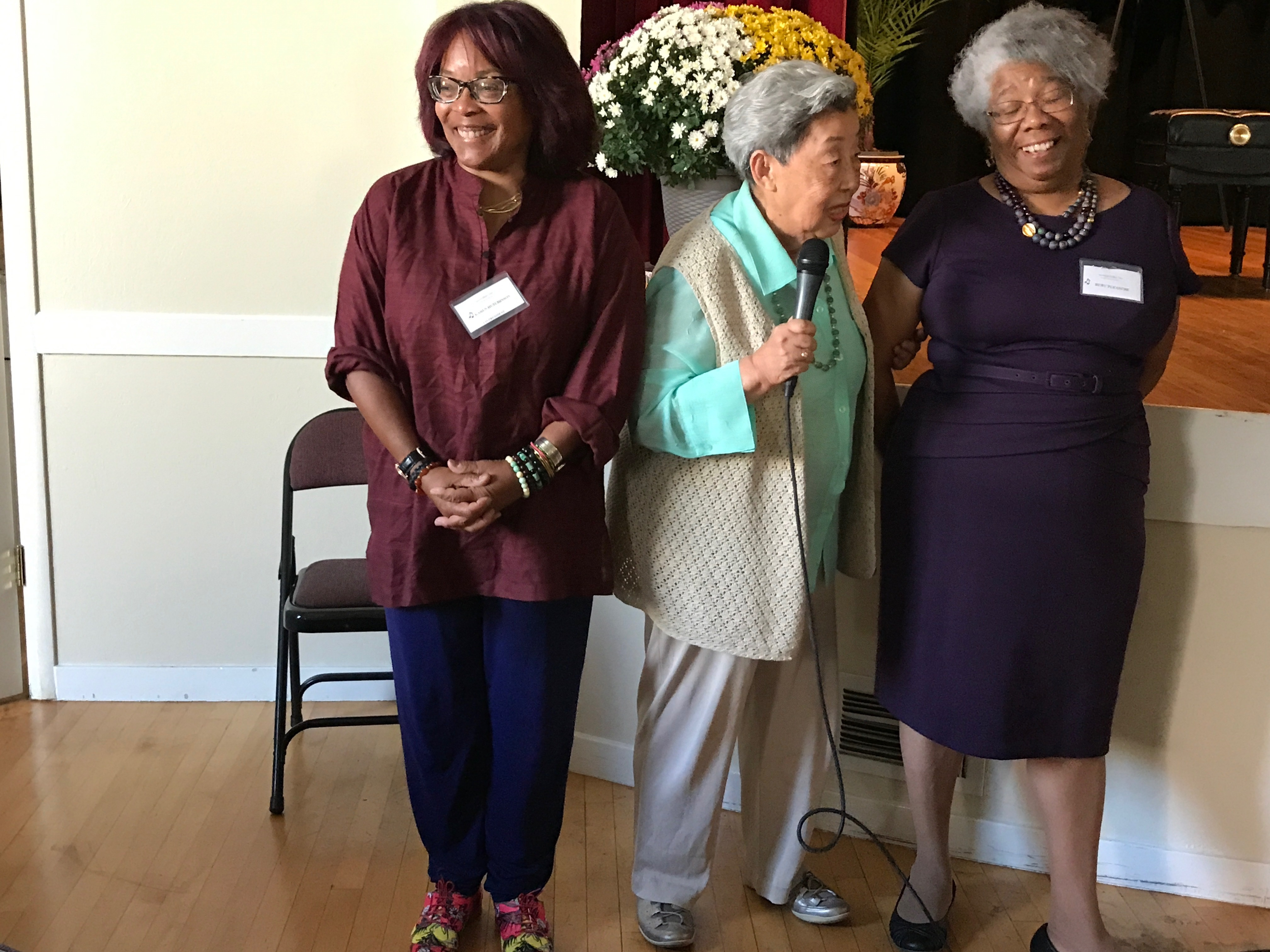 Karen Hutchinson, Co-President, Roz, Ruby