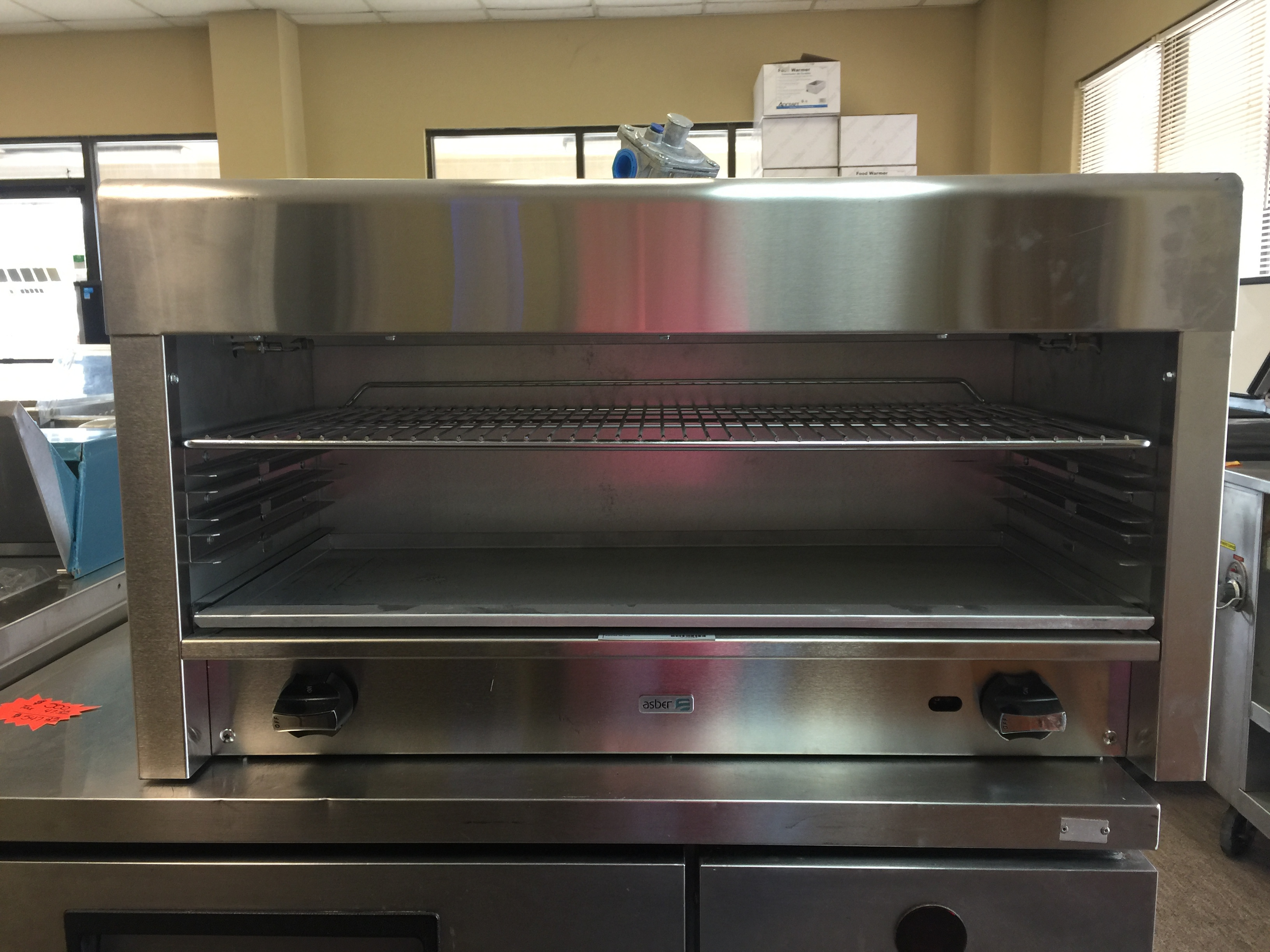 Asber 36 Natural Gas Cheese Melter  $ 900.00