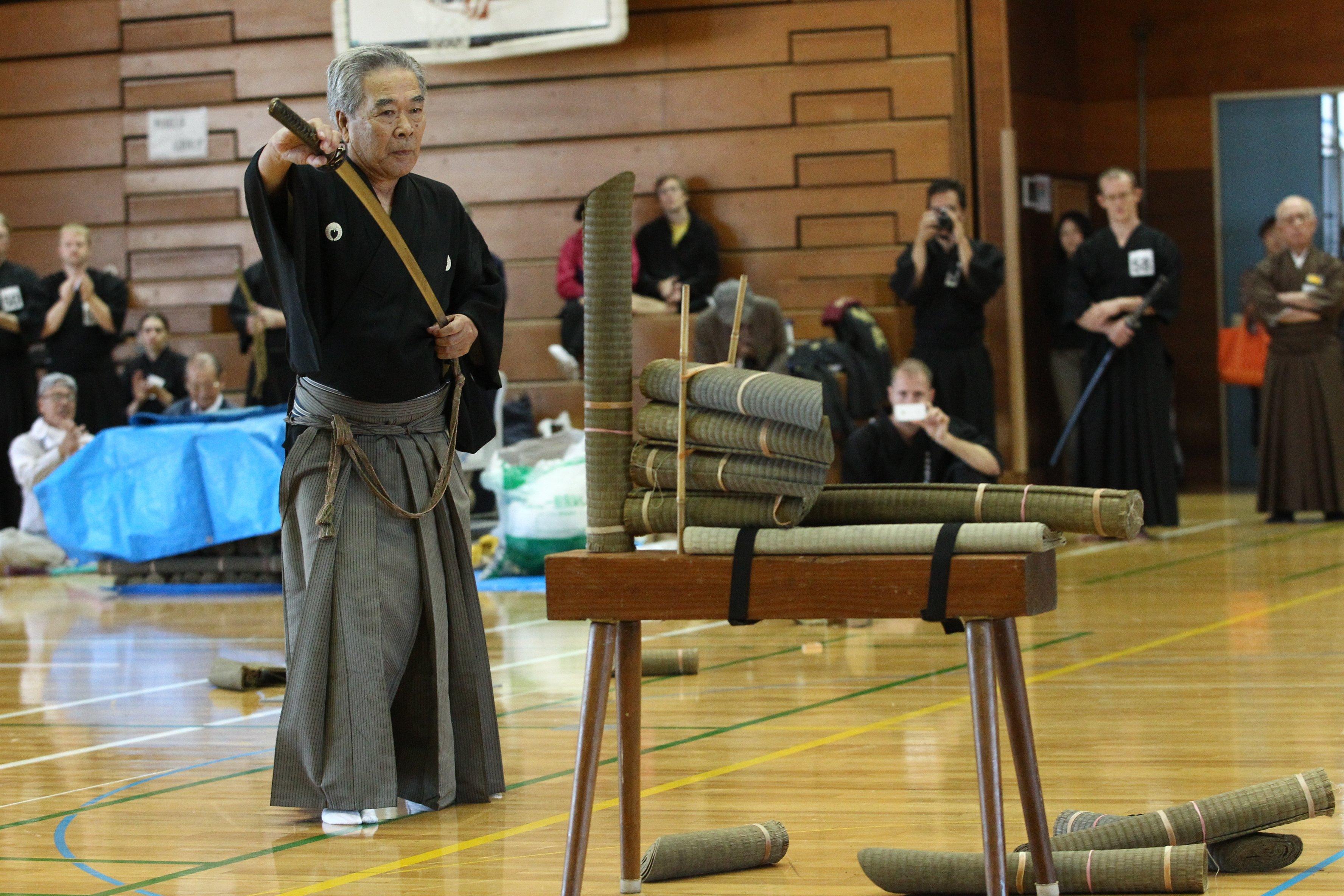 Happogiri embu - Sato Seiji Sensei.