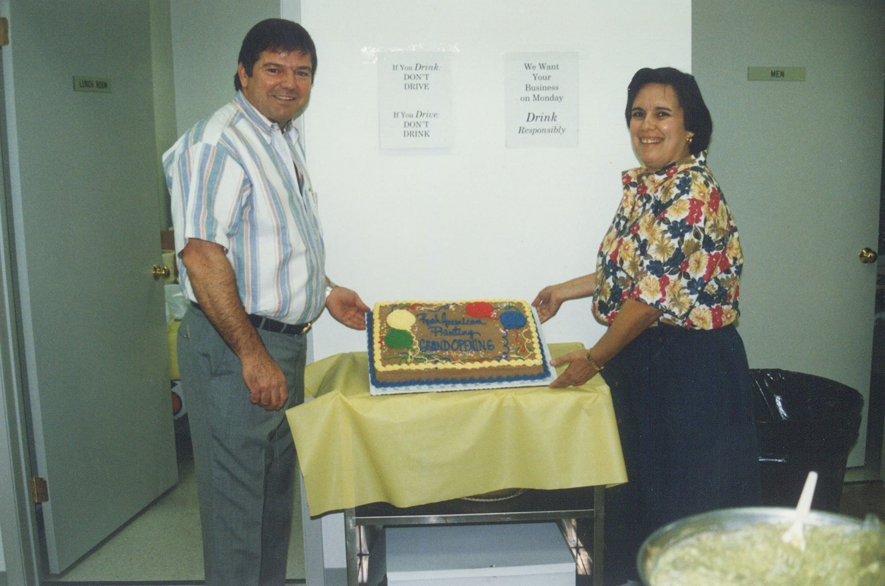 Grand Opening of New Location 1991
