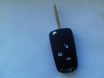 Ford Fiesta New 3 Buttons Key