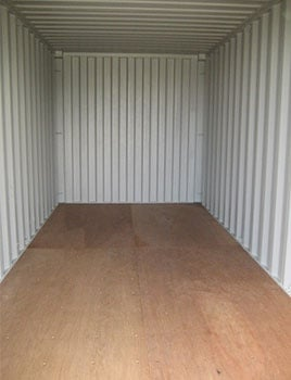 Inside Storage Container