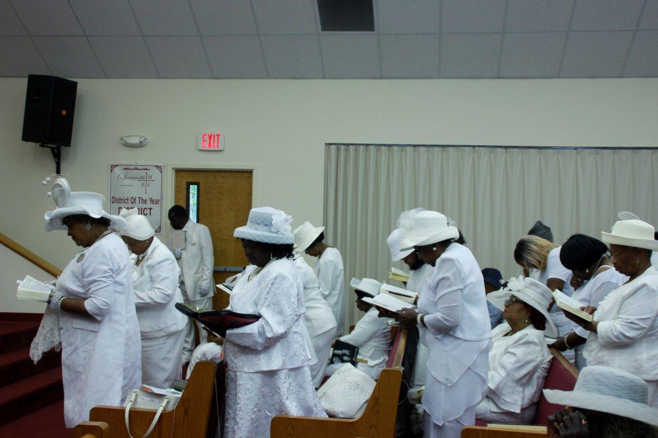 Congregation Participating at Church