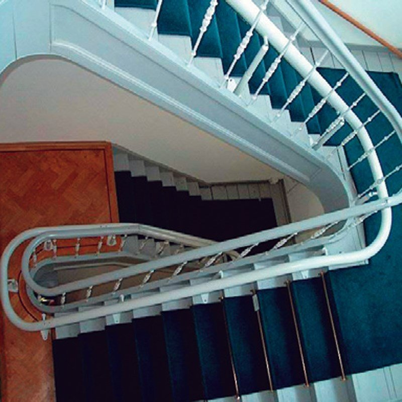 Residential Curved Stair Lifts