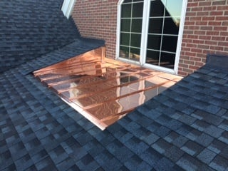 Large Copper Window Well
