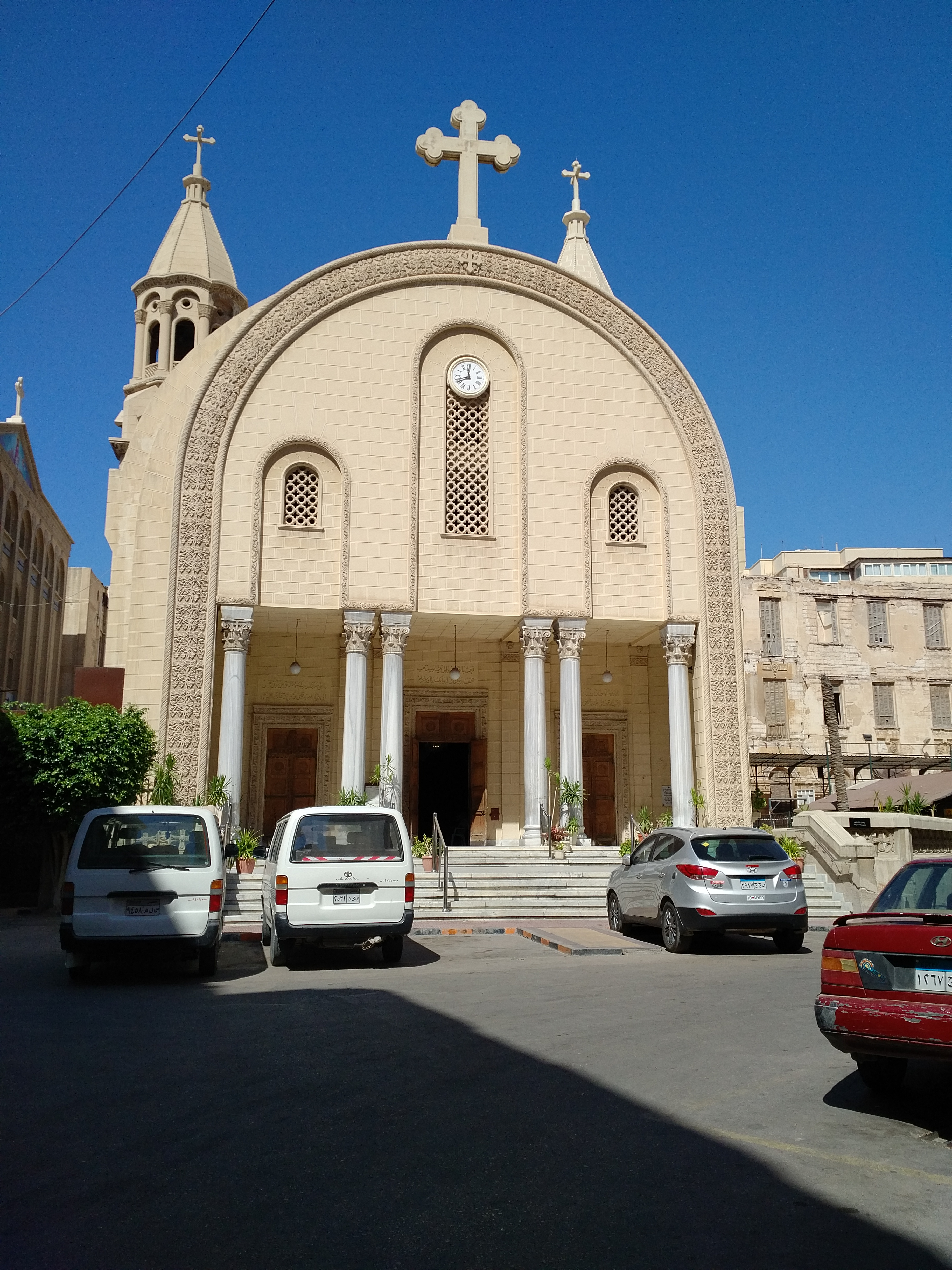 ALEXANDRIA, Church of St. Catherine of Alexandria