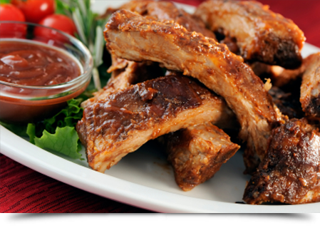 Barbecue pork ribs||||