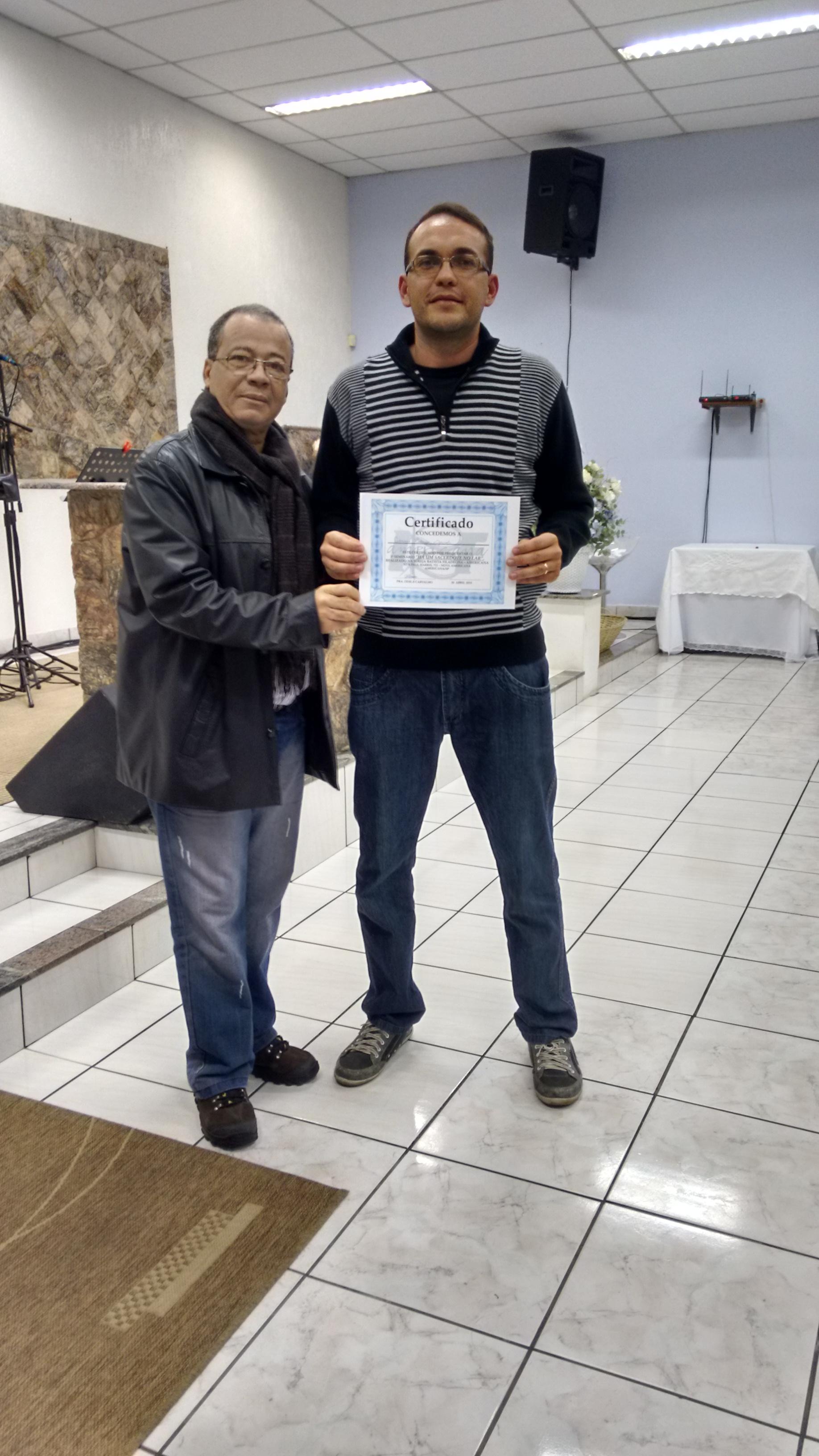 Igreja Batista Filadélfia de Americana/SP - Encontro de Homens