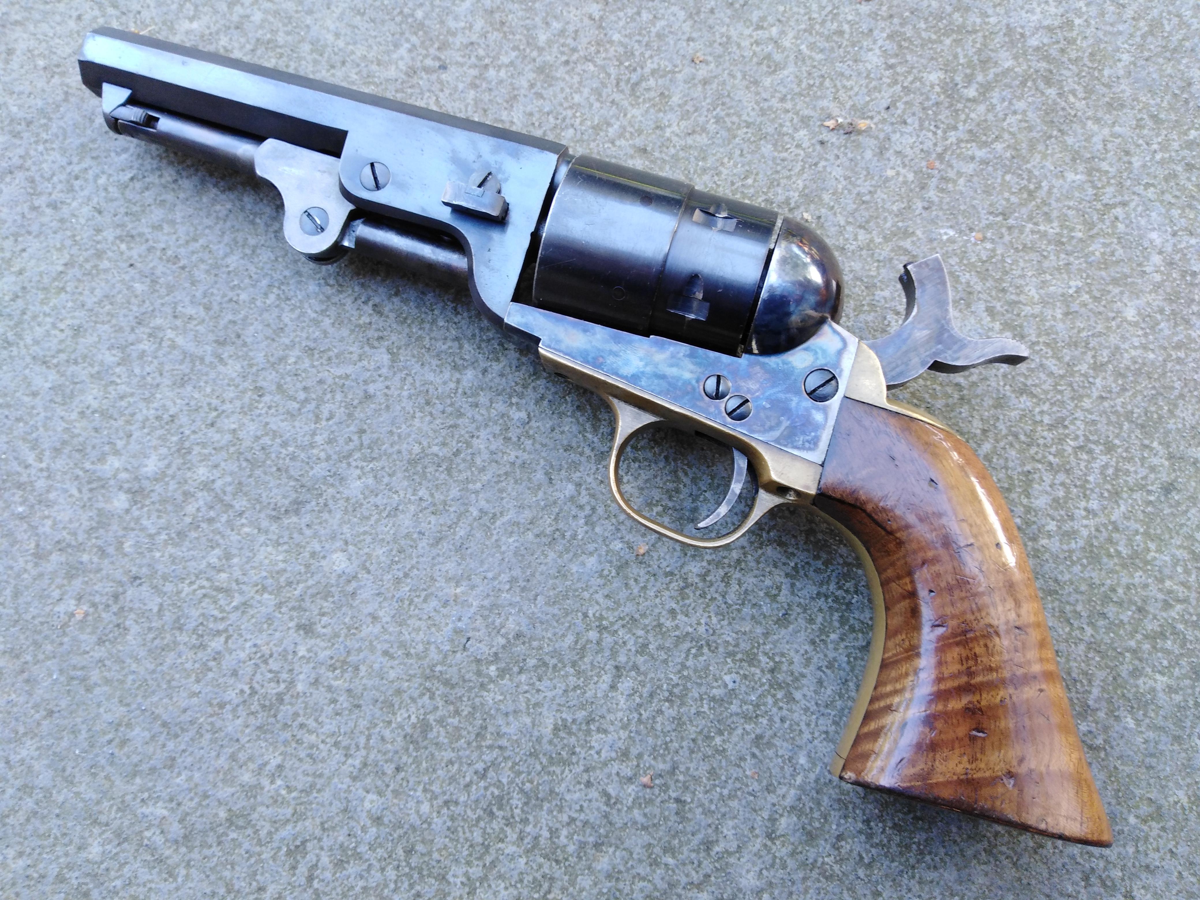 Pietta Steel Frame Colt navy Sheriff