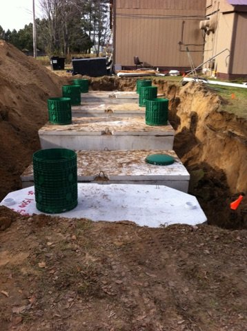 Septic System And Drain Field