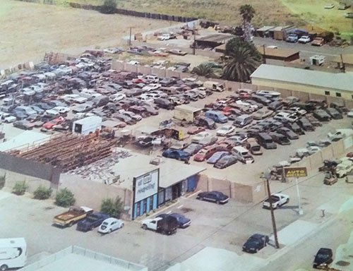 Aerial Shot of Cars