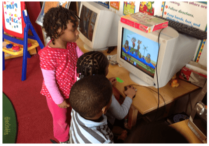 Kids Playing Educational Games