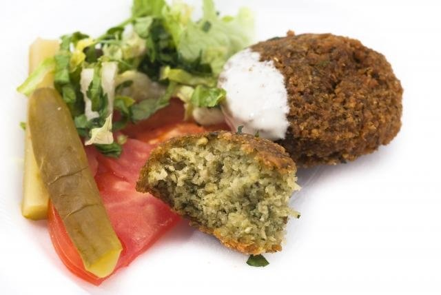 Falafel With Salad