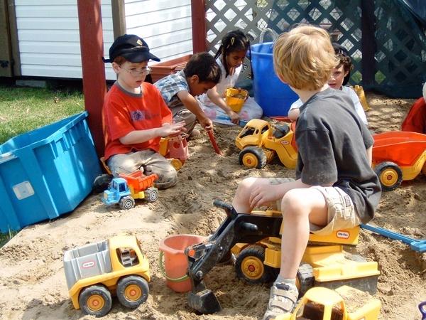 Carré de sable extérieur