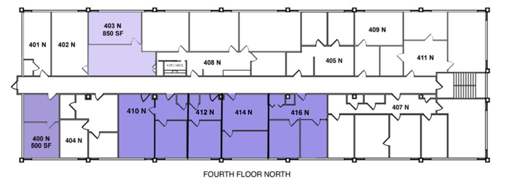 Fourth Floor North