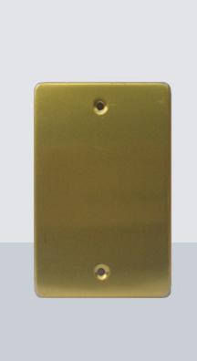 PL-CI Placa Ciega Aluminio