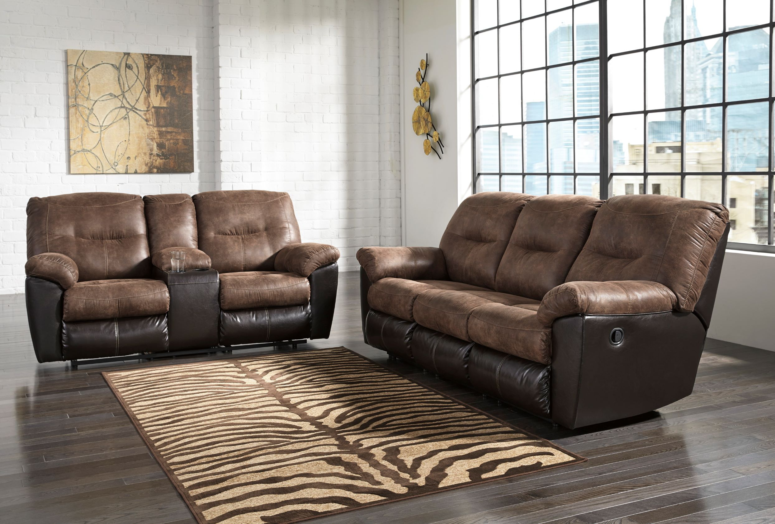 65202 REC Sofa and Love
