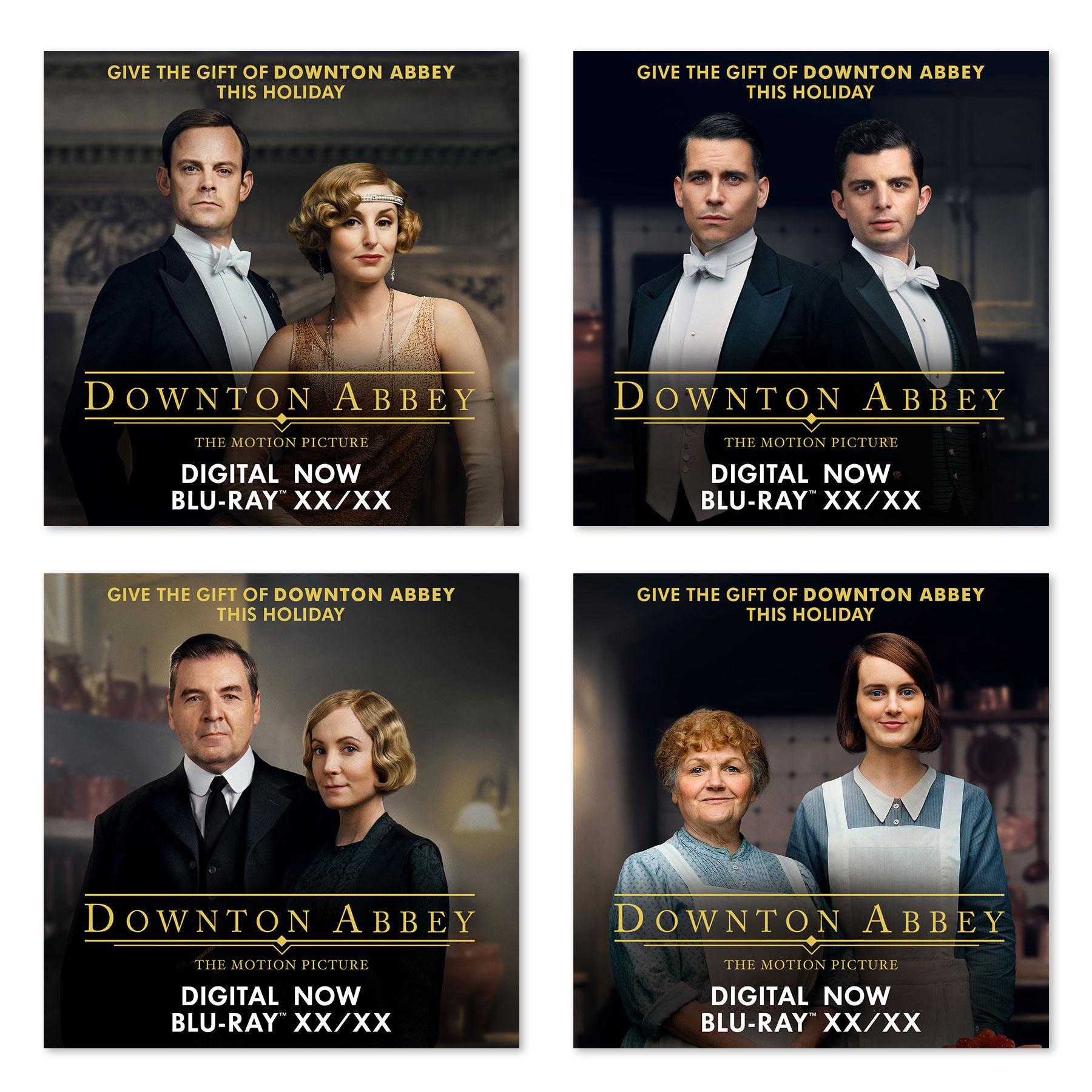 Downton Abbey Digital Ads