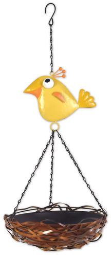 Yellow Bird Feeder