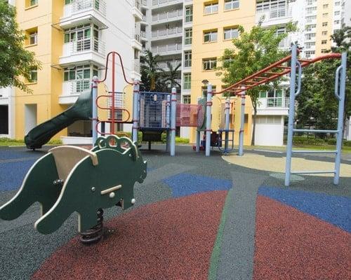 Public Housing Childrens Playground