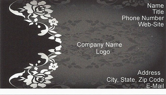 Luxury Buisness Card This is for the elegant ones