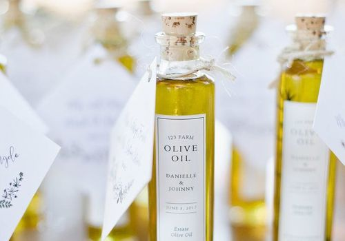 Olive  Oil Wedding Gift