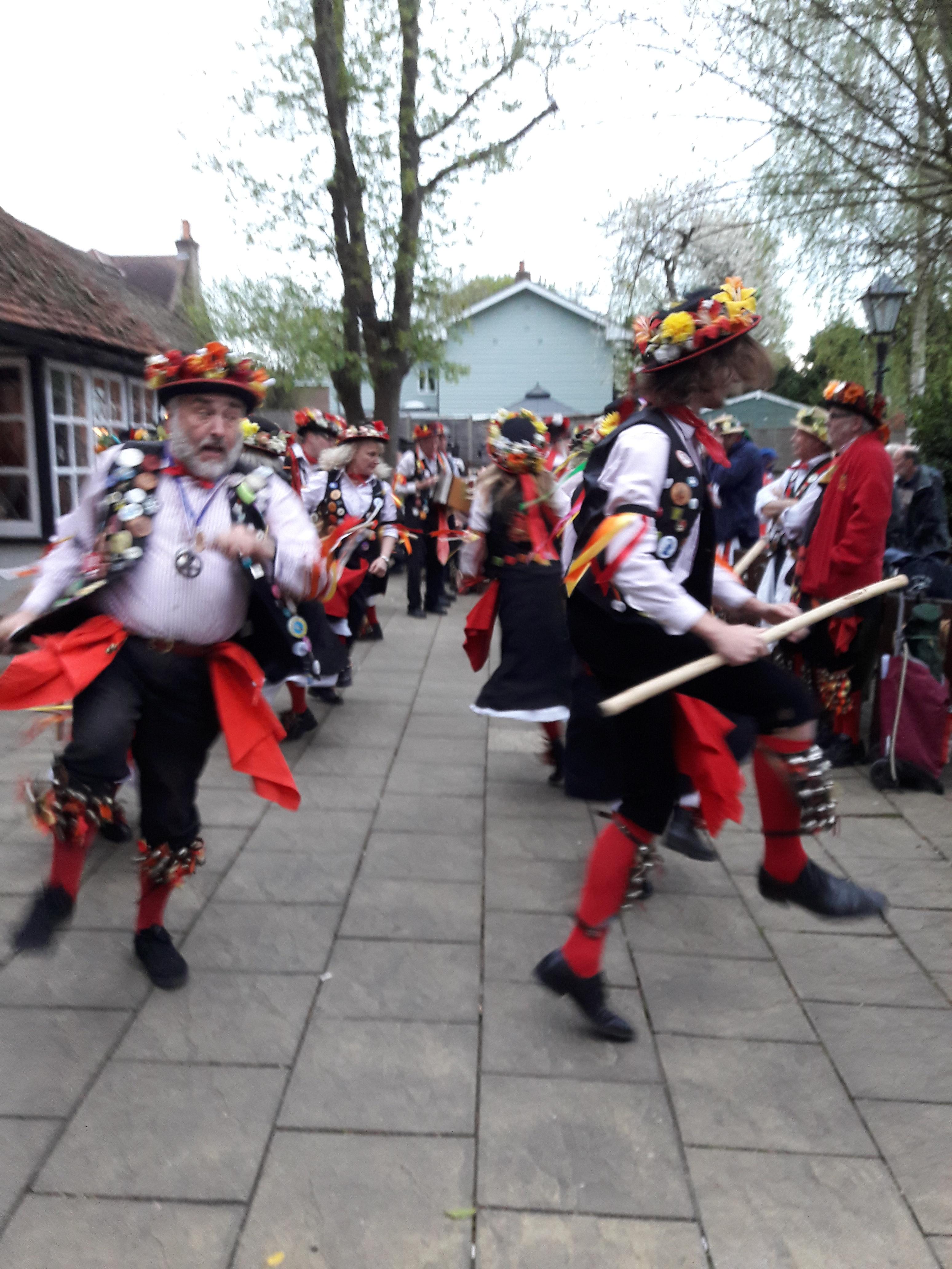 Phoenix Morris dancing round