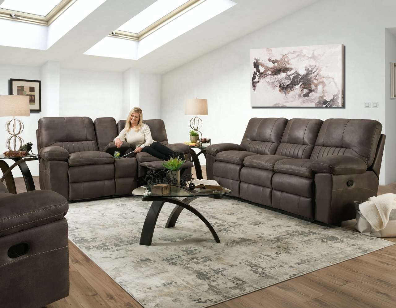 26803 Sofa & Love Seat Steel
