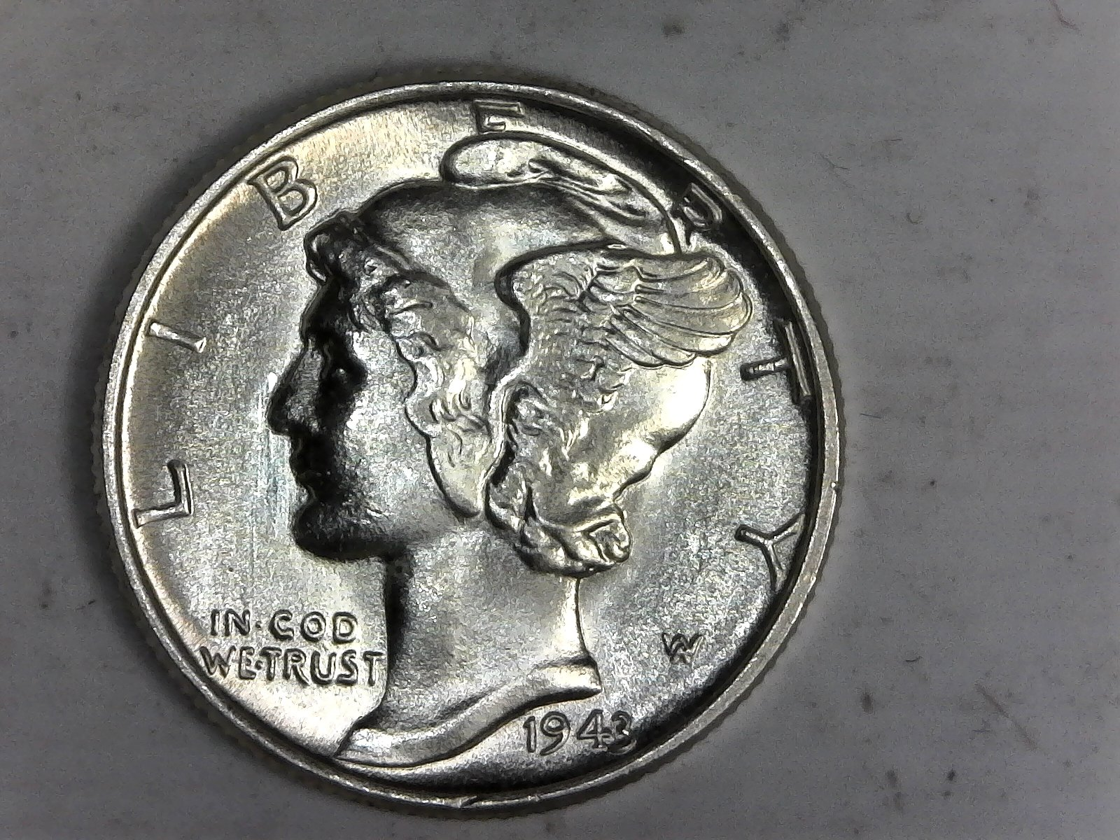 Click on Mercury Dime for Online Inventory