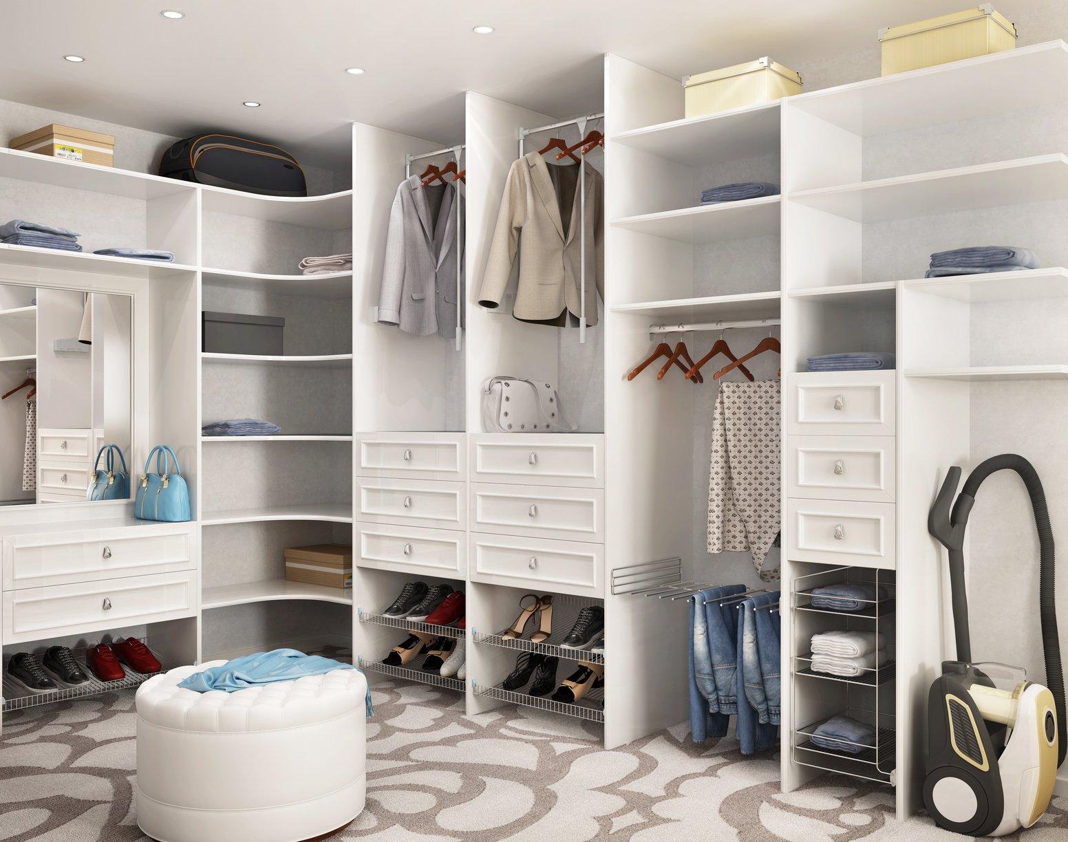 Trendy Custom Closet System Design Ideas | Closet Designs ...