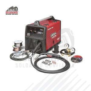 POWER MIG® 140C SOLDADORA MIG Power MIG 140C Compact MIG and Flux Cored wire Welder K2471-2